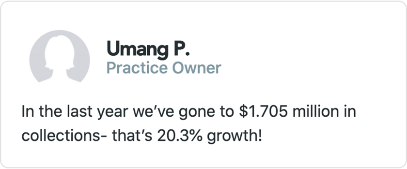 Umang P. - Practice Owner