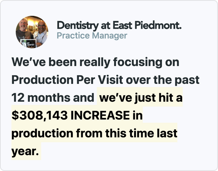 Dentistry at East Piedmont - Practice Manager