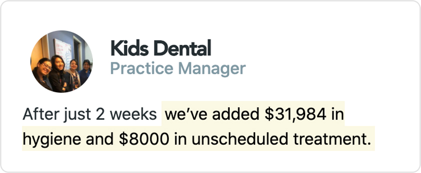 Kids Dental - Practice Manager